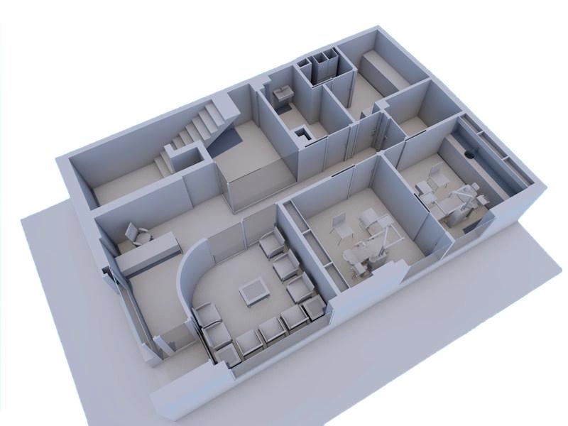 Aseo adaptado dimensiones - Planos de clinicas dentales ...