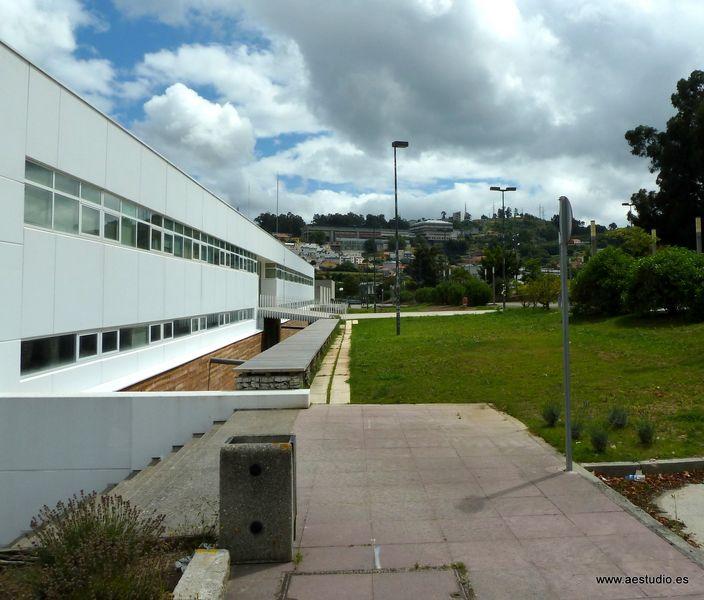 Reurbanizaci n universitaria aestudio arquitectos coru a - Patio ingles ...