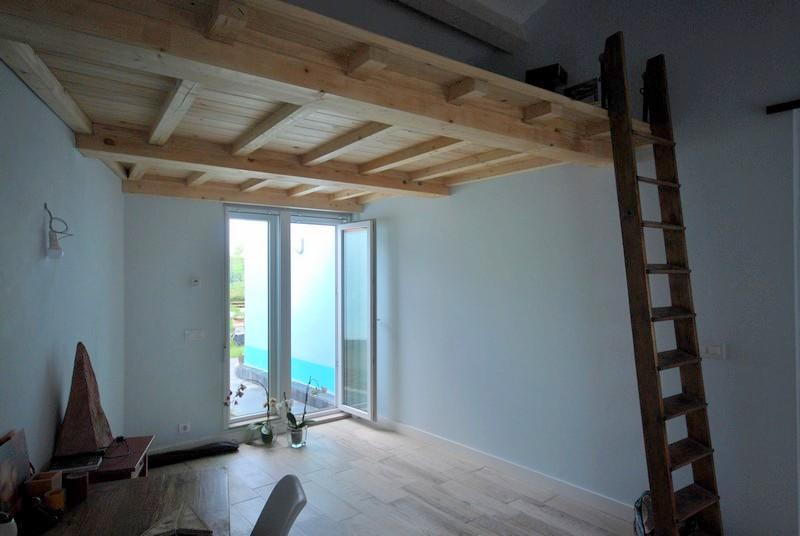 O ba o mugardos aestudio arquitectos coru a - Altillo de madera ...