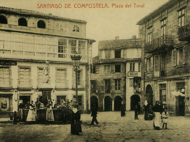 Praza do toural aestudio arquitectos coru a - Arquitectos santiago de compostela ...