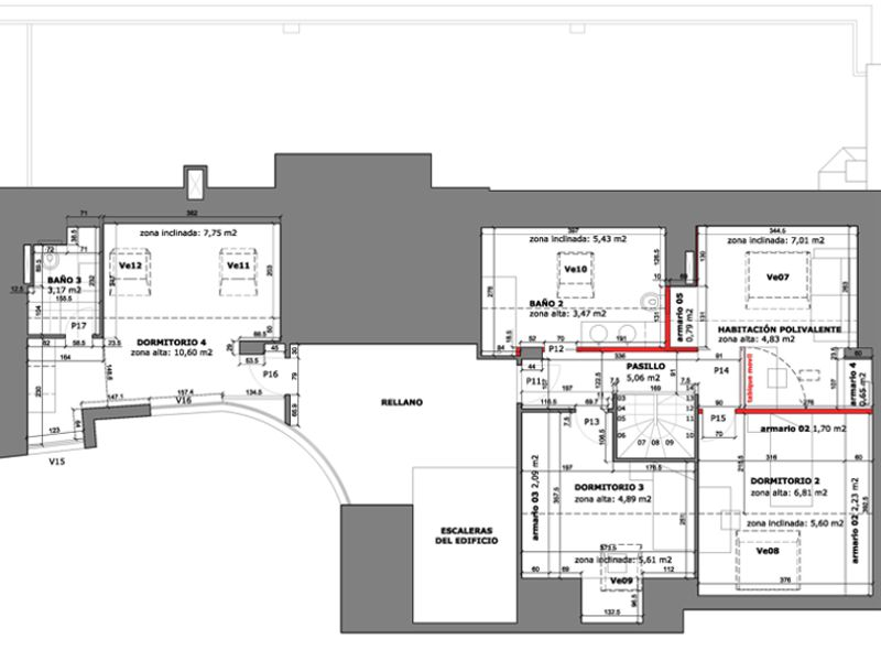 Baño Vestidor Definicion:la planta primera cuenta con un pequeño loft totalmente independiente