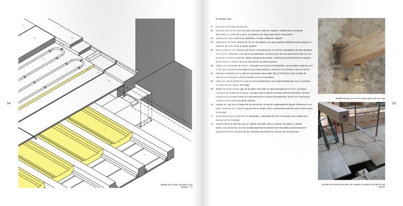 Ejemplo de solución constructiva del forjado con suelo radiante